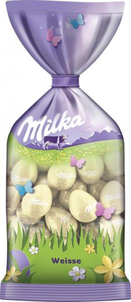 Kleine Schokoladen-Eier, Weiße Schokolade