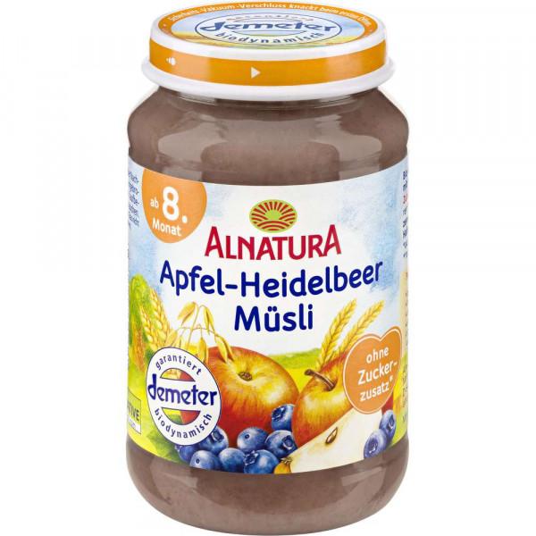Alnatura Bio Apfel-Heidelbeer-Müsli