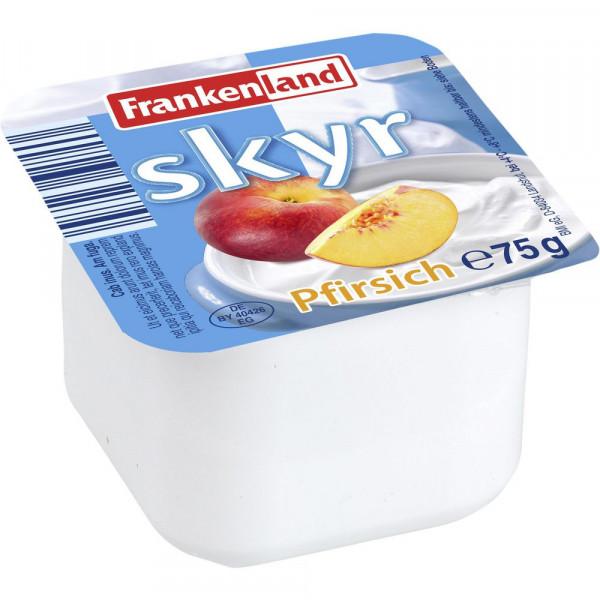 Skyr, Pfirsich