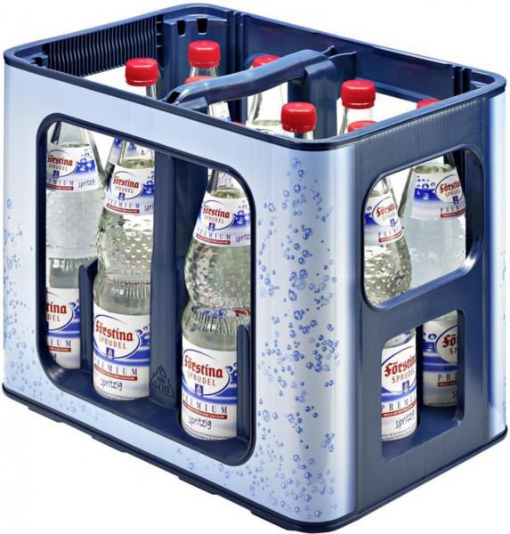 Premium Mineralwasser, Spritzig (12 x 0.7 Liter)
