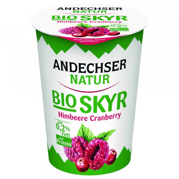 """Bio Skyr """"Himbeer-Cranberry"""", 0,2% Fett"""