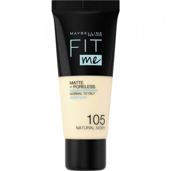 Make-Up Fit Me Matte + Poreless, Natural Ivory 105