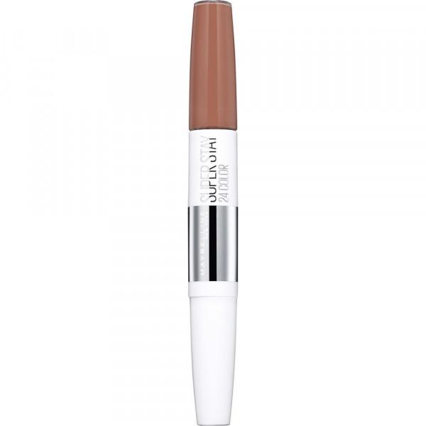 Lippenstift Super Stay 24 Color, Creme Caramel 611