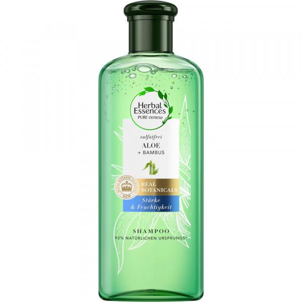 """Shampoo """"Stärke & Feuchtigkeit"""", Aloe + Bambus"""