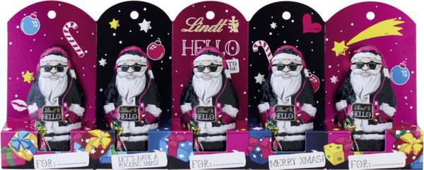 """Schokoladen """"Hello""""-Mini Santa"""