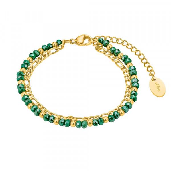 Damen Armband aus Edelstahl, vergoldet (2028483)