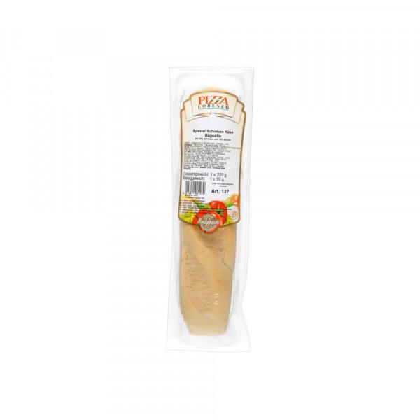 Schinken-Käse Baguette