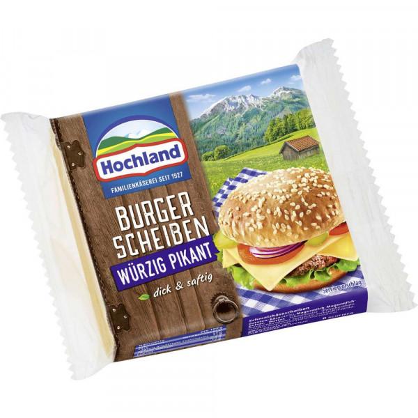 """Schmelzkäse """"Burger Scheiben"""", würzig-pikant"""