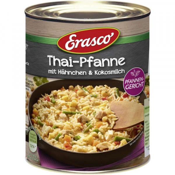 Thai-Pfanne mit Hähnchen & Kokosmilch