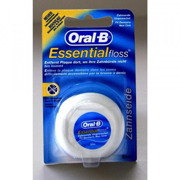 Zahnseide Essentialfloss, ungewachst, geschmacksneutral