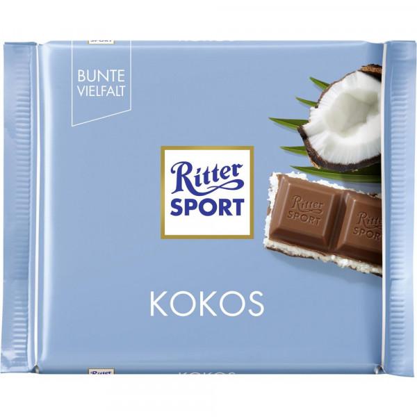 Tafelschokolade, Kokos