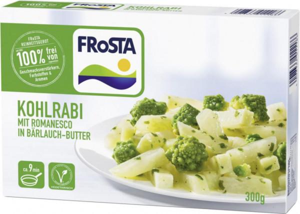 Kohlrabi in Bärlauch-Butter, tiefgekühlt