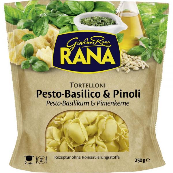 Tortelloni, Pesto Basilico & Pinoli