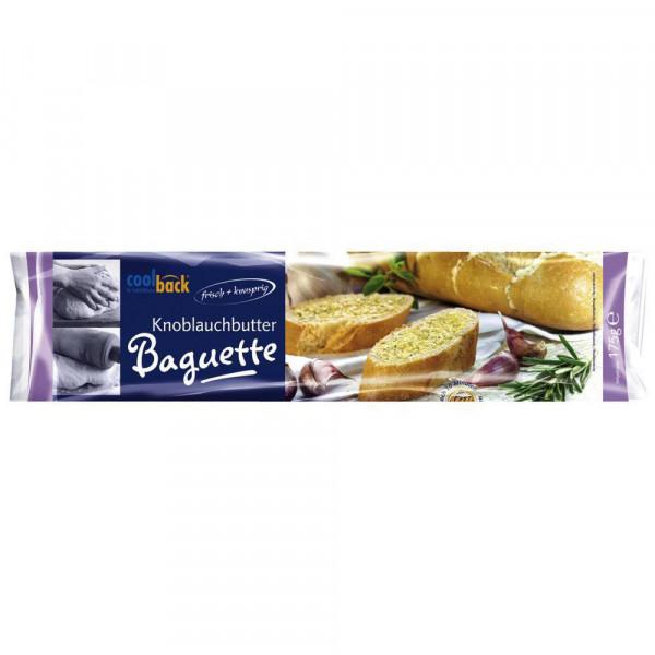 Baguette mit Kräuterbutter, tiefgekühlt