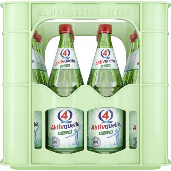 Q4 Mineralwasser, Medium (12 x 0.7 Liter)