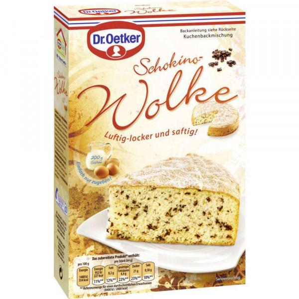 """Backmischung """"Wolke"""", Schokino Kuchen"""