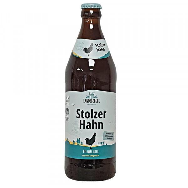 Stolzer Hahn Premium Pilsener Bier 4,9% (20 x 0.5 Liter)
