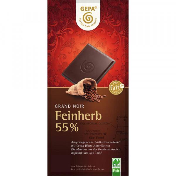 Bio Grand Noir Feinherb Schokolade