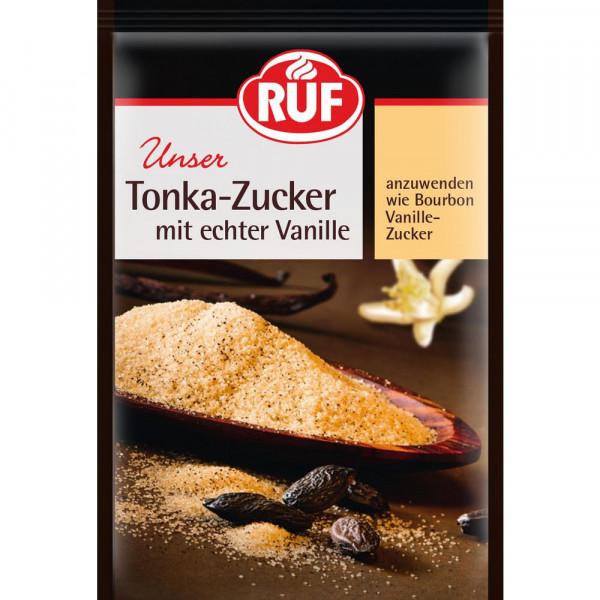 Tonka-Zucker, mit echter Vanille