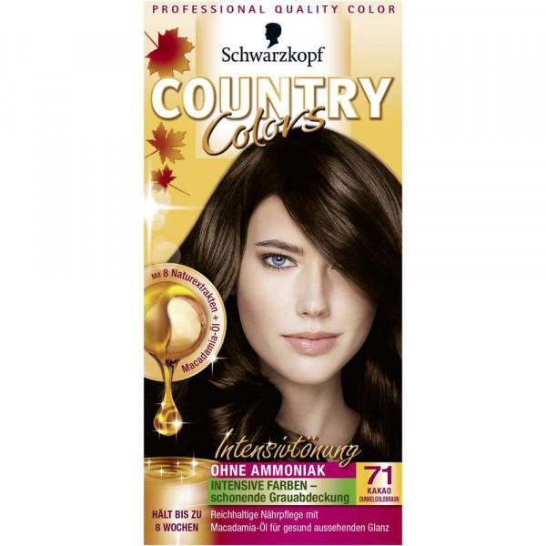 "Haarfarbe ""Country Colors"", 71 Dunkelgoldbraun"
