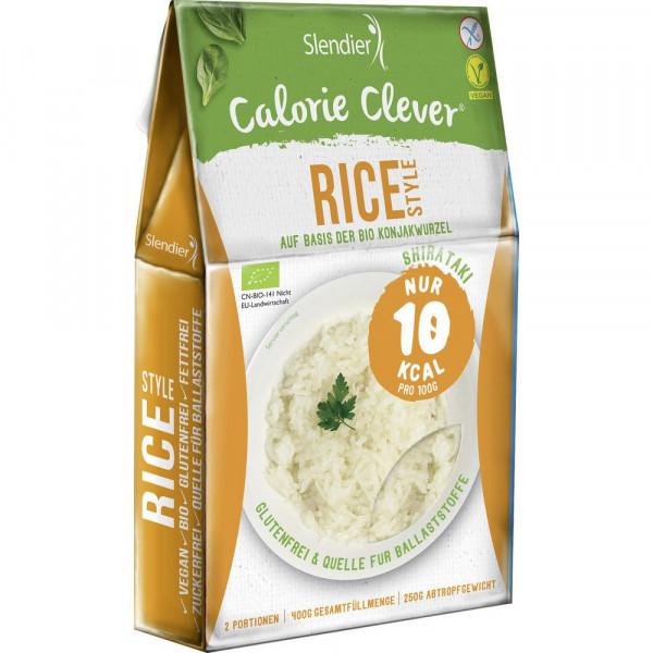 Bio Rice Style auf Konjakwurzel Basis