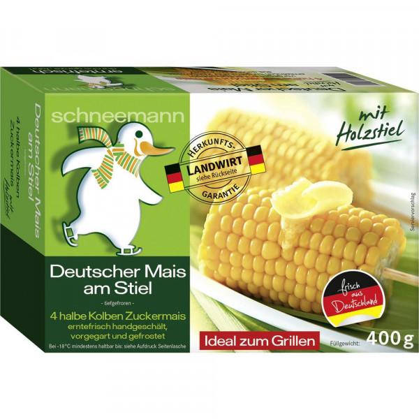 Deutscher Mais am Stiel