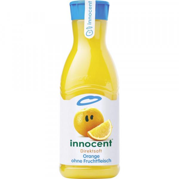 Orangensaft ohne Fruchtfleisch