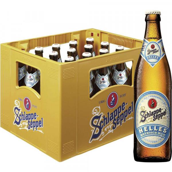 Bayrisches Helles Bier, mild 4,8% (20 x 0.5 Liter)