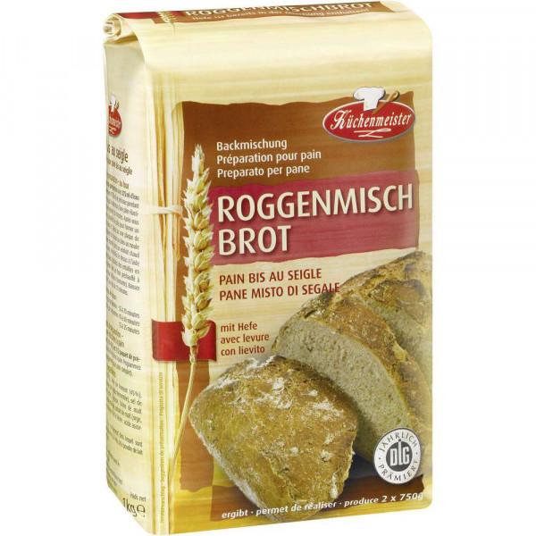 Brotbackmischung, Roggenbrot