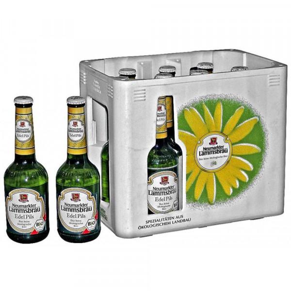 Bio Edel Pilsener Bier 4,7% (10 x 0.33 Liter)