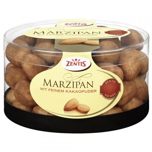 Marzipan-Eier mit Kakaopuder