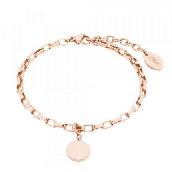 Damen Armband aus Edelstahl, vergoldet (2028466)