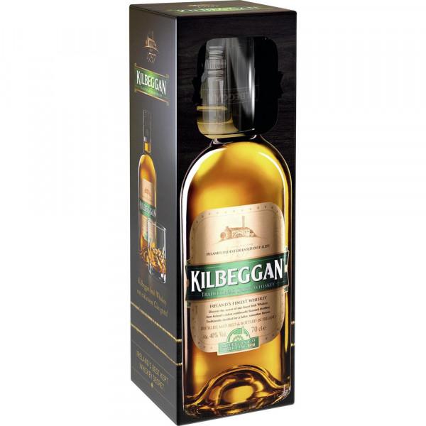 Irish Whisky + Glas 40%
