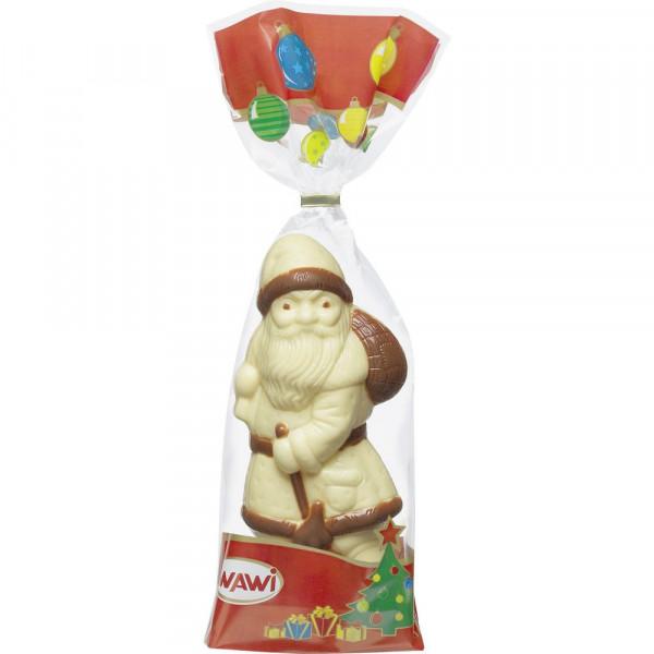 Weihnachtsmann, weiße Schokolade