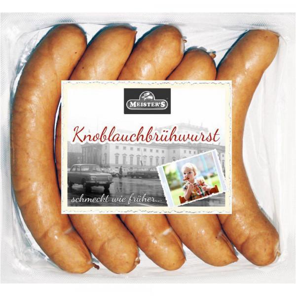 Knoblauchbrühwurst