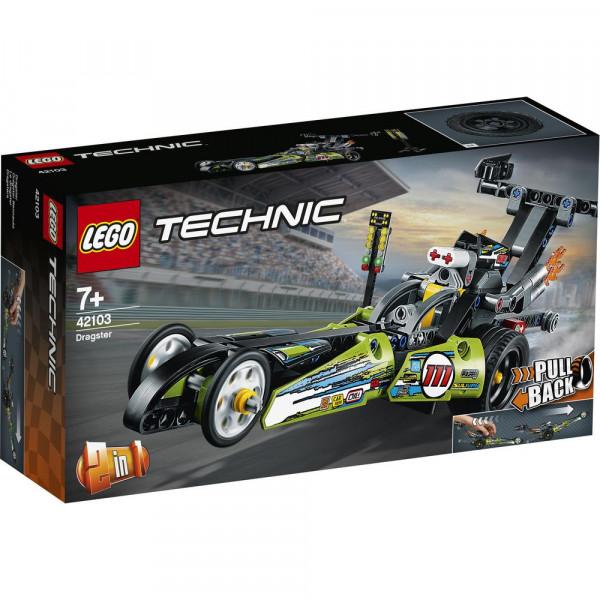 LEGO 42103 Dragster Rennauto
