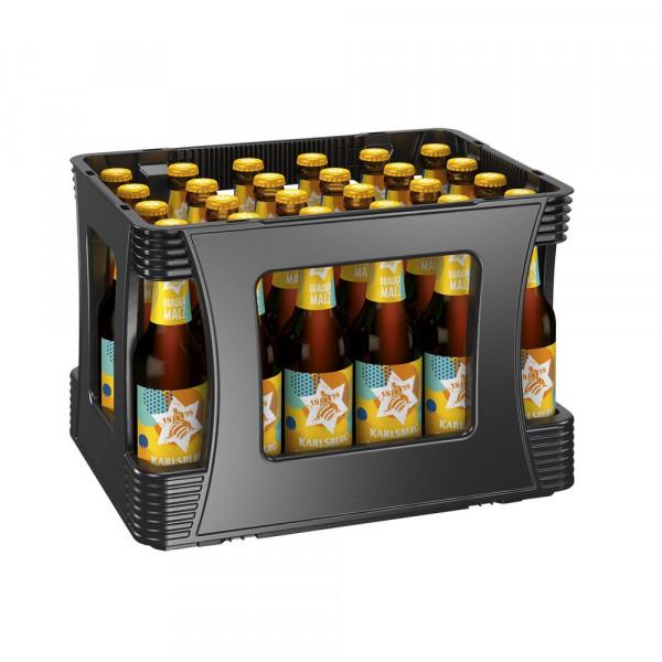 Brauermalz(4 Sixpacks in der Kiste zu je 6 x 0.33 Liter)