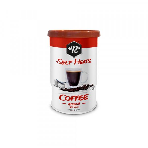 "Kaffee ""Self Heats"", mit Zucker"