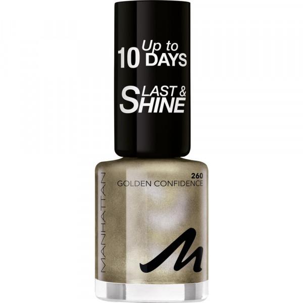 Nagellack Last & Shine, Golden Confidence 260