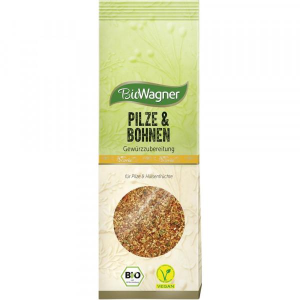 Bio Pilze- & Bohnen Gewürzmischung