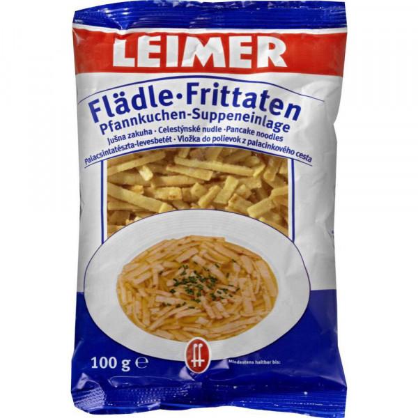 Pfannen-Suppeneinlage, Flädle-Frittaten