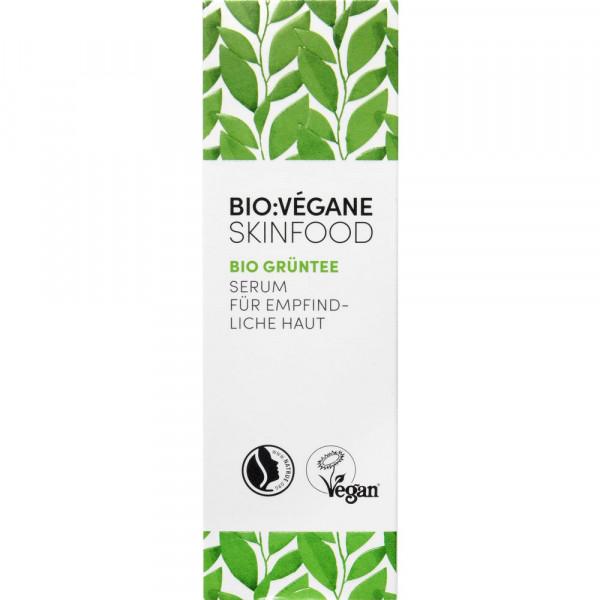Serum für empfindliche Haut, Bio Grüntee