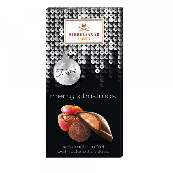 """Weihnachtsschokolade """"Apfel-Trüffel"""""""