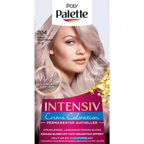 Haarfarbe, 204 kühles Violettblond