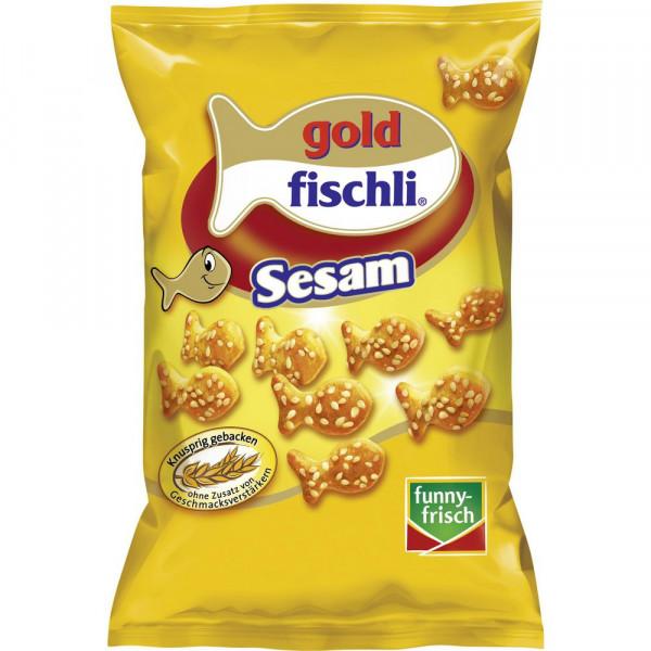 """Knabber-Gebäck """"Goldfischli"""", Sesam"""