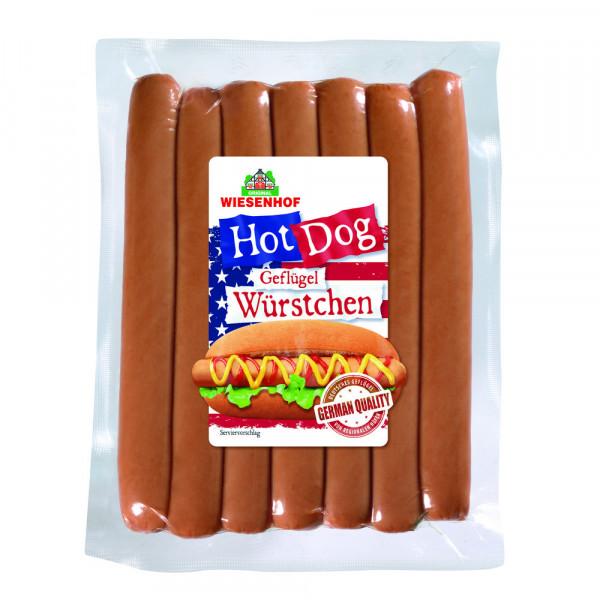 Hot Dog Geflügel Würstchen
