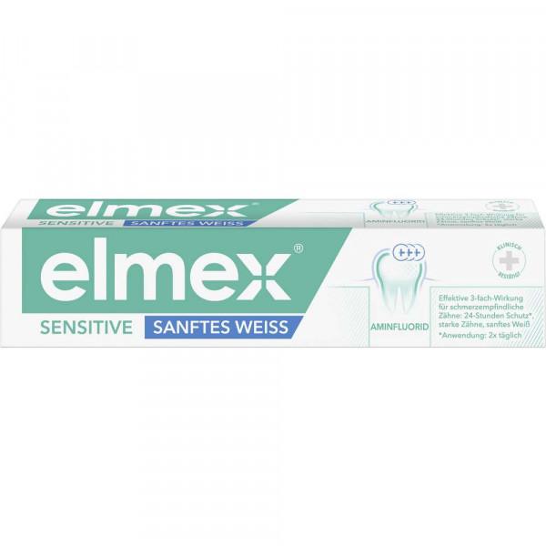 Zahncreme sensitive, sanftes weiß