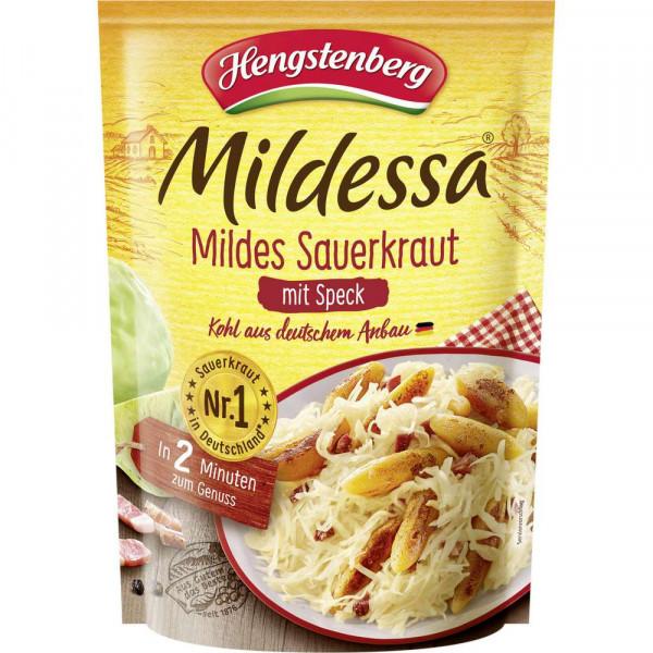 Mildes Sauerkraut mit Speck