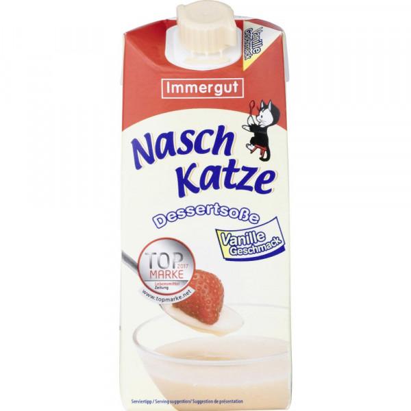 """Dessertsoße """"Naschkatze"""", Vanille"""