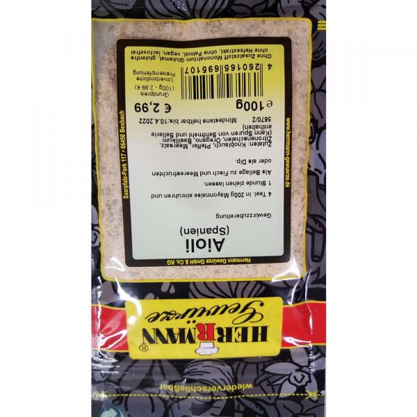 Gewürzmischung Aioli (Spanien)